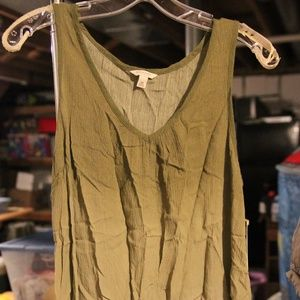NWT Medium Sonoma Green Ombre Tank